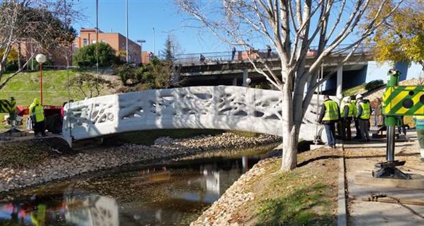 3D gedruckte Brücke