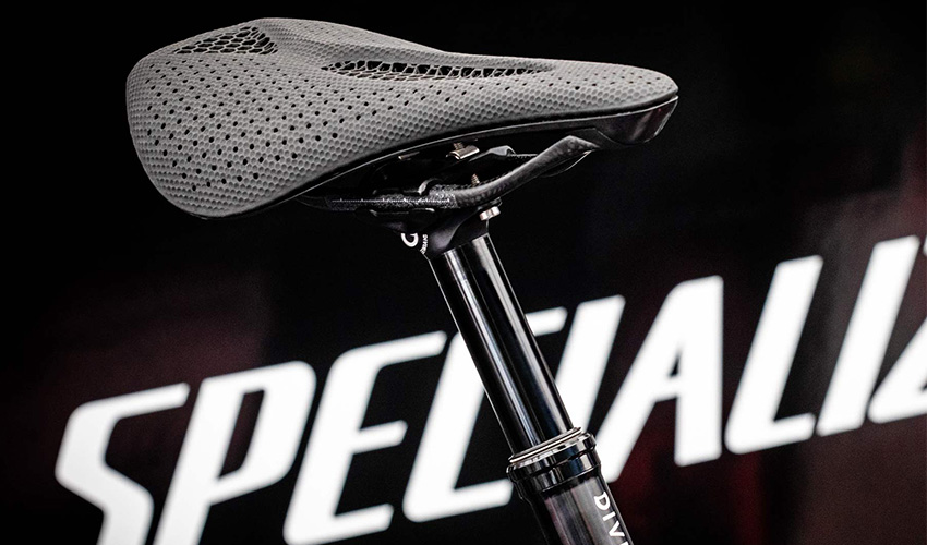 3D-gedruckter Fahrradsattel