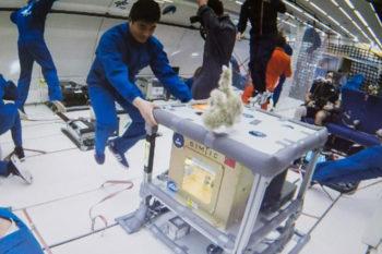 Mikrogravitations-3D-Druck: Drucken in der Schwerelosigkeit