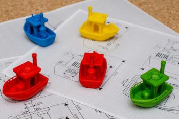 Die originellen 3D-gedruckten Boote von Vandragon