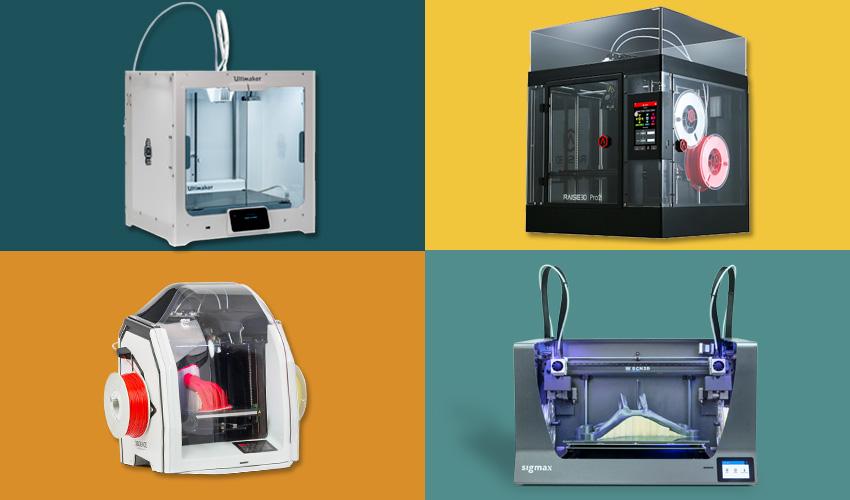 Ddoppelextruder 3D-Drucker