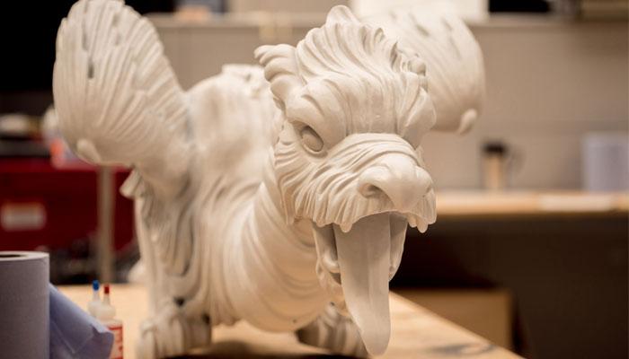 3D-gedruckte Drachen