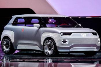 Fiat stellt Konzeptauto mit in 3D druckbaren Teilen vor
