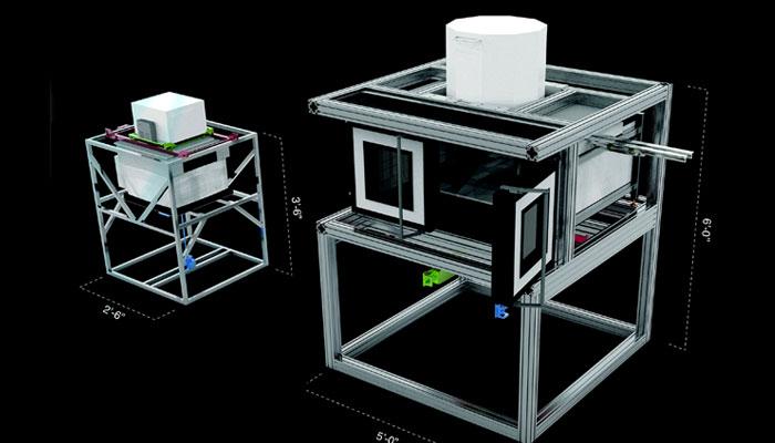 3D-gedrucktes Glas