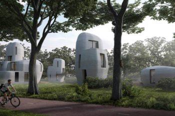 3D-gedruckte Häuser für die niederländische Stadt Eindhoven