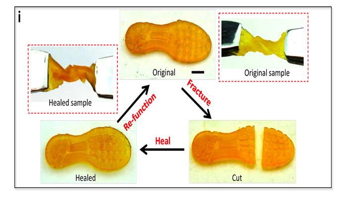 selbstreparierendes 3D-Druckmaterial