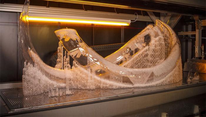 3D gedrucktes Mammut
