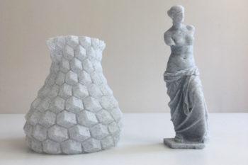 Warum Marmor-Filament ideal für den 3D-Druck von Skulpturen