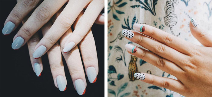 3D gedruckte Nägel