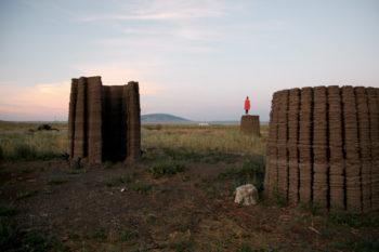 Mud Frontiers -  Das Projekt zur Herstellung 3D-gedruckter Schlammhütten