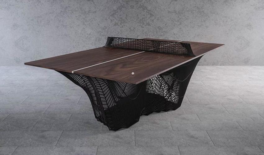 3D-gedruckte Tischtennisplatte