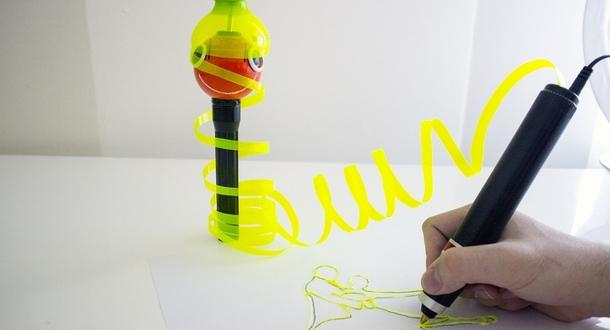 Umweltfreundlicher 3D Stift Renegade erreicht Finanzierungsziel 3Dnatives