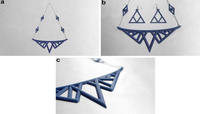 3D-gedruckter Schmuck
