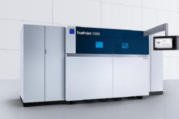 Individuelle Serienfertigung in Rekordzeit: Der Hochgeschwindigkeits-3D-Drucker TruPrint 5000 von TRUMPF