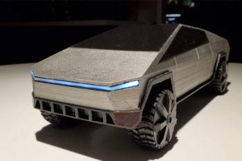 Den Tesla Cybertruck zuhause selbst 3D-drucken