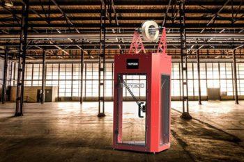 Tractus3D stellt seinen hochtemperaturbeständigen, modularen 3D-Drucker vor