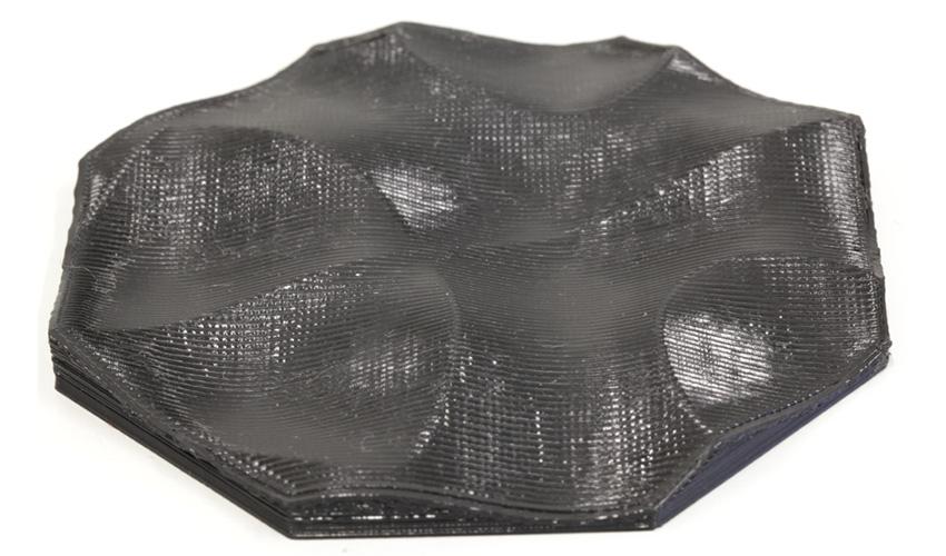 3D-Druck nicht-planarer Schichten