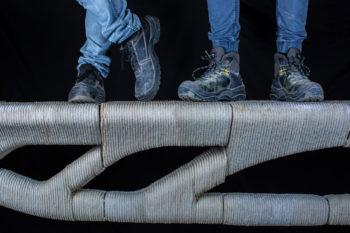 Vertico druckt eine Brücke in 3D mit 60% weniger Beton als üblich