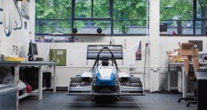 3D gedruckter Formel1-Wagen