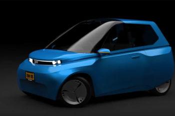 Noah: Das vollständig recycelbare 3D-gedruckte Auto