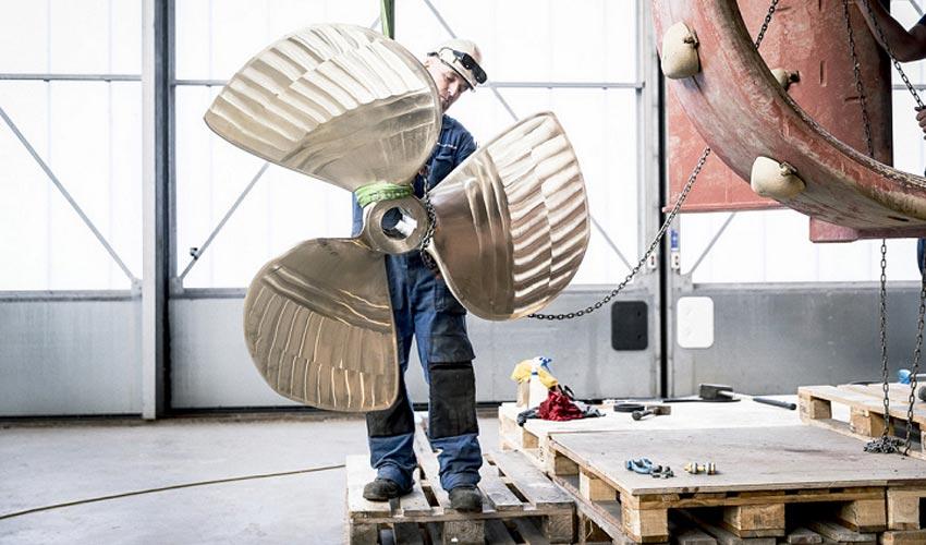 RAMLAB fertigt erfolgreich 3D-gedruckte Schiffsschraube