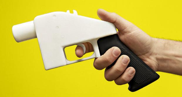 3D gedruckte Waffe