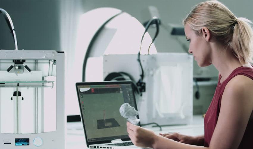 Frauen und 3D-Druck