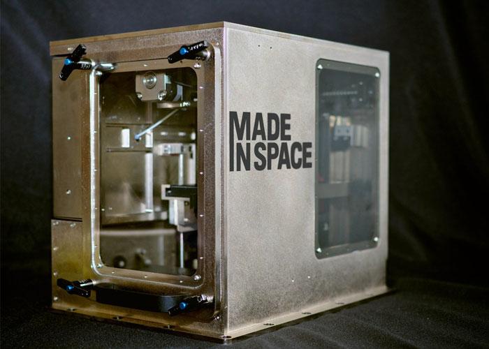 space 3D printing
