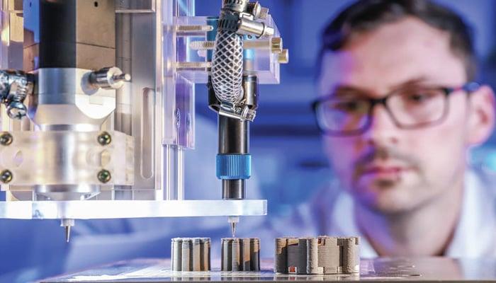 3D printed motor