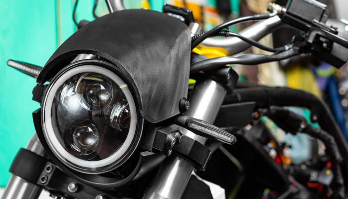 3D printed motorelectric bike