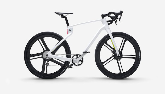 Superstrata 3D printed bikes