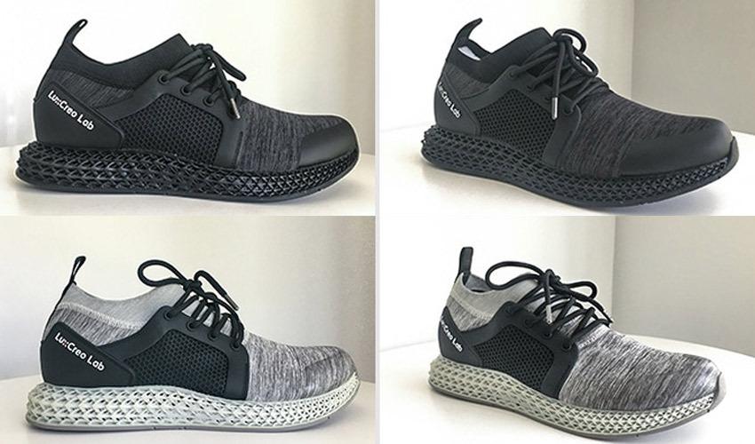 waterproof 3D printed shoes