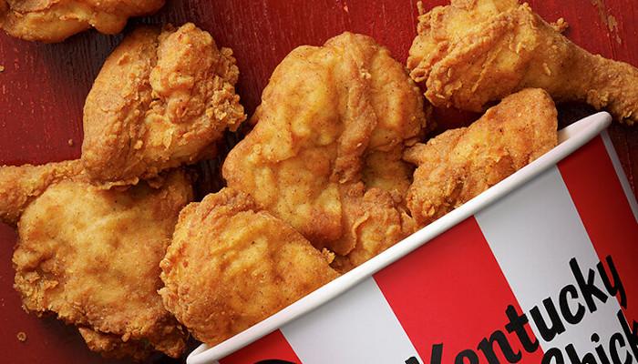 KFC 3D printed chicken