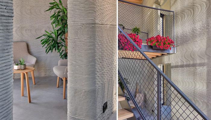 3D printed house in Belgium