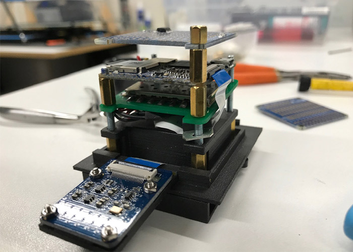 discovery 3D printed satellite