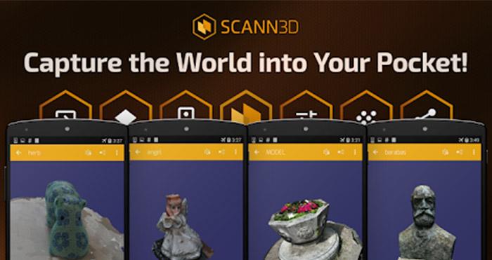 3D scanner apps