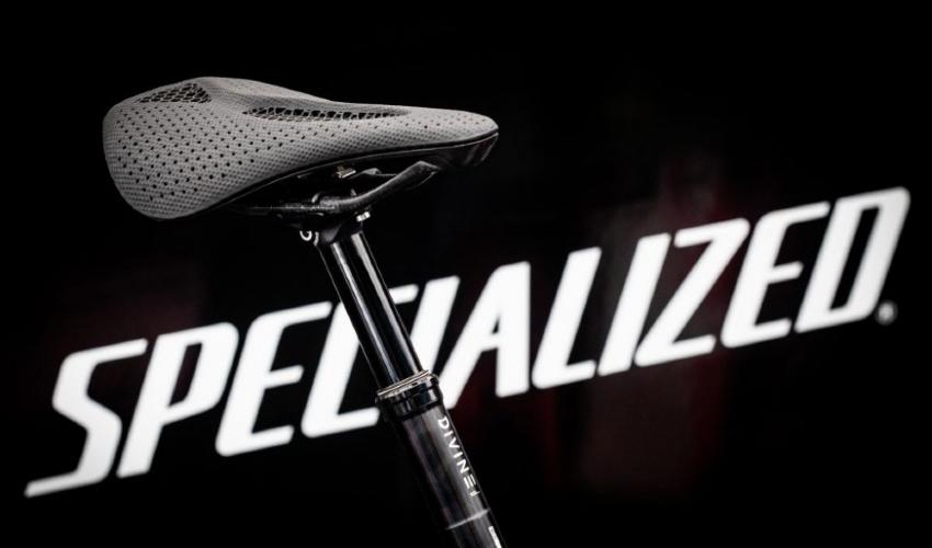 3D printed bike saddle