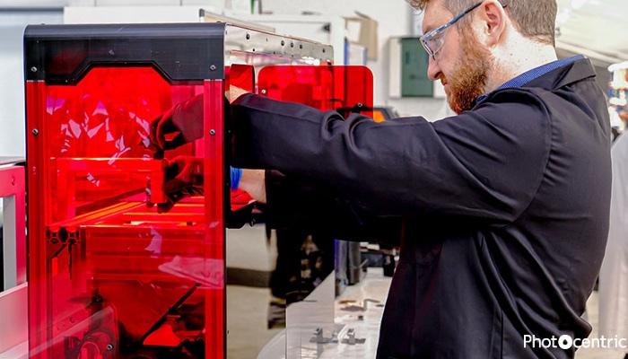 3D printed batteries