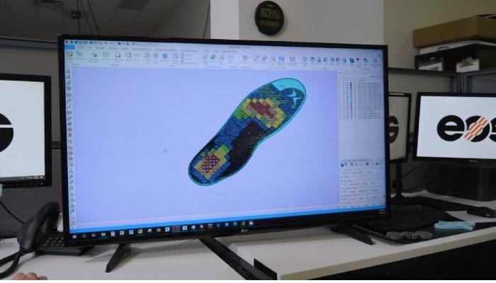 3d printed shoe orthotics