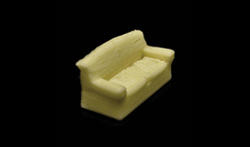 3D printing method for milk