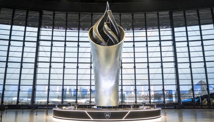 Las Vegas Raiders stadium torch