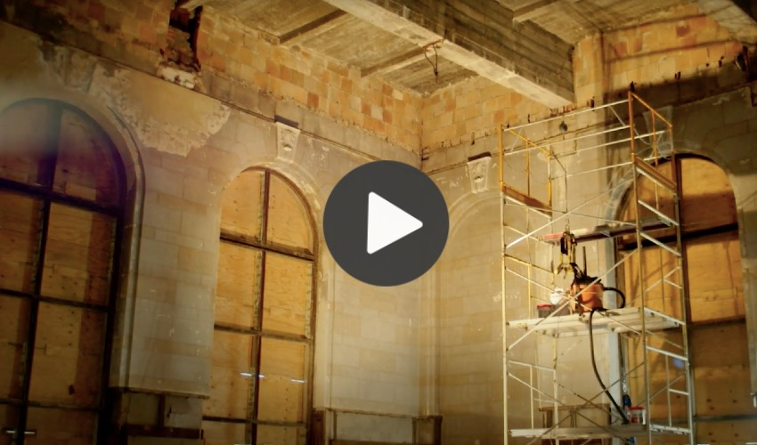 3D scanners restore Michigan Central