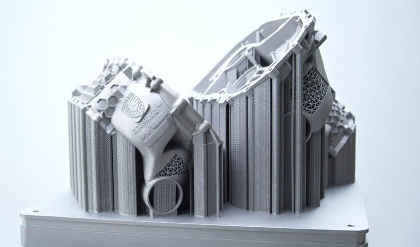Porsche 3D Prints 40% Lighter Housing for Electric Motor