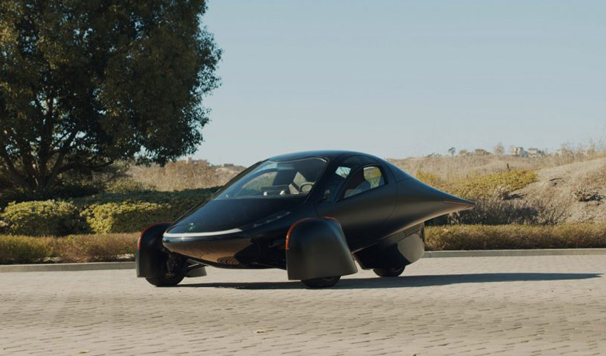 Aptera Motors Launch 3D Printed Self-Charging Electric Vehicle