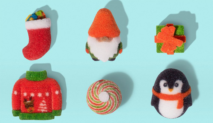 3D printed sweets (photo credit : The Sugar Lab)