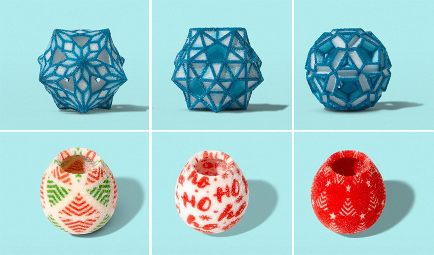 The Sugar Lab 3D Prints Christmas Candy and Decorations with Sugar
