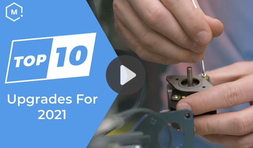 Top 5 Videos: 10 ways to upgrade your 3D printer in 2021