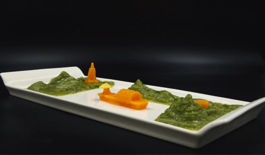 3D printing vegetables