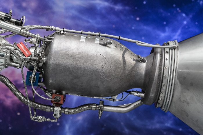 Orbex 3D printed rocket engine