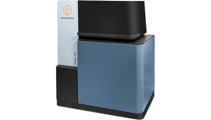 Nanofabrica's TERA 250 can be used for microscale 3D printing